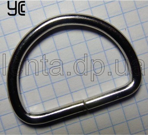 35мм Полукольцо металлическое 4213 никель