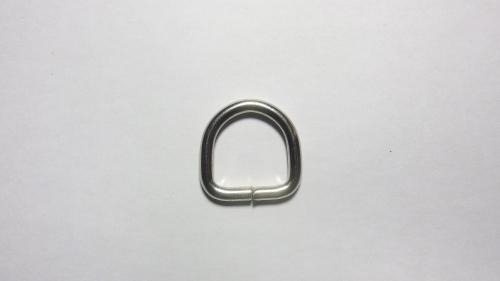 20мм Полукольцо металлическое 4225 никель
