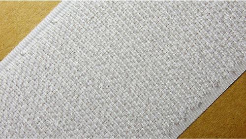 50мм Лента контактная (липучка) белый
