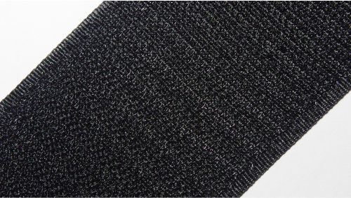 50мм Лента контактная (липучка) черная