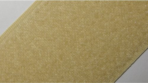 50мм Лента контактная (липучка) бежевая 5218