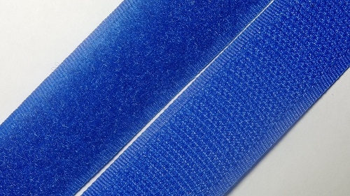 25мм Лента контактная (липучка) синий