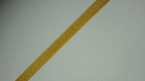 10мм Лента окантовочная люрекс р.3020 золото