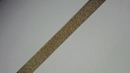 15мм Лента окантовочная люрекс р.3442 бронза