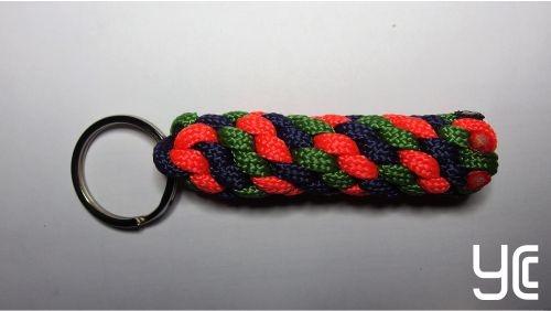 Брелок плетеный Б006