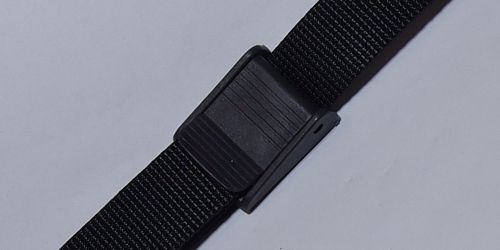 25мм Ремень поясной черный