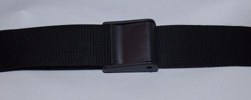 50мм Ремень поясной черный