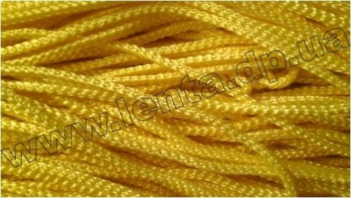 Шнур плетеный р.2220 желтый