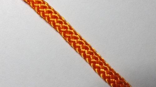 Шнур плетеный без наполнителя р.2330 оранж