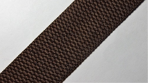 25мм Лента окантовочная р.2338 коричневая
