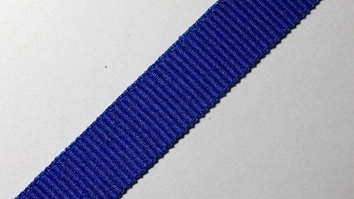 15мм Лента окантовочная репсовая р.2467 синяя