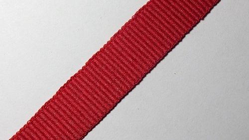 15мм Лента окантовочная репсовая р.2467 красная