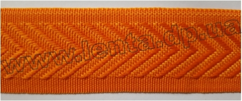 40мм Лента для отделки матрасов р.2698 оранжевая (40мм)