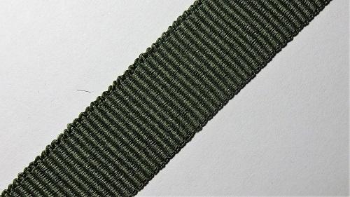 20мм Лента окантовочная репсовая р.2744 хаки