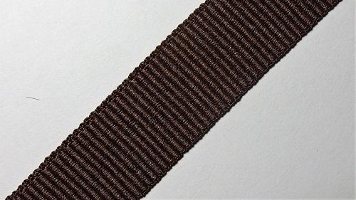 20мм Лента окантовочная репсовая р.2744 коричневая