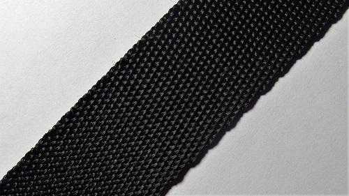 25мм Лента ременная р.2824 черная  п/п
