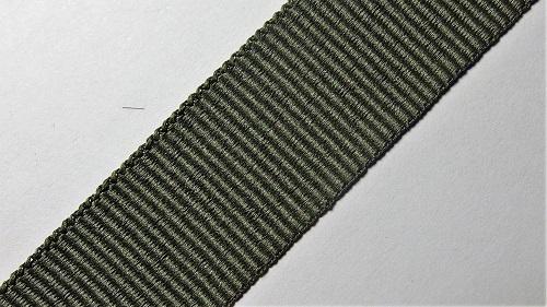 25мм Лента окантовочная репсовая р.2826 хаки