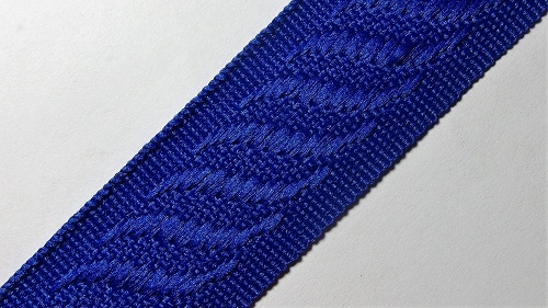 24мм Лента окантовочная р.2840 синяя