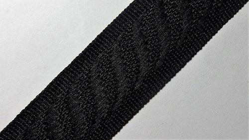 24мм Лента окантовочная р.2840 черная