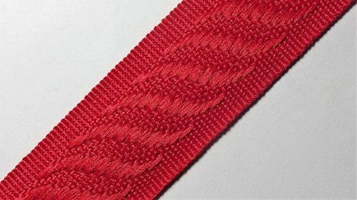 24мм Лента окантовочная р.2840 красная