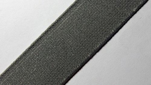 25мм Лента эластичная (резинка) р.2910 серый
