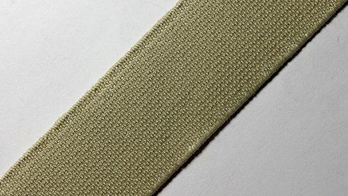 25мм Лента эластичная (резинка) р.2910 бежевый
