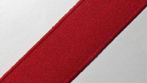 25мм Лента эластичная (резинка) р.2910 красная