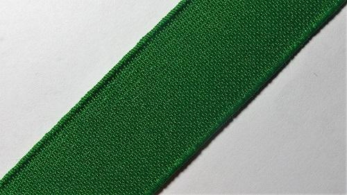 25мм Лента эластичная (резинка) р.2910 зеленый