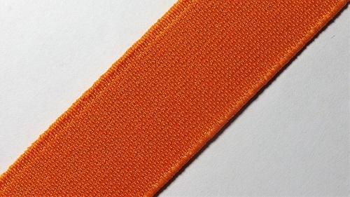 25мм Лента эластичная (резинка) р.2910 оранжевая