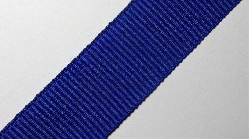 23мм Лента окантовочная репсовая р.3052 синяя