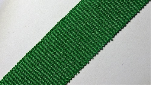 23мм Лента окантовочная репсовая р.3052 зеленая