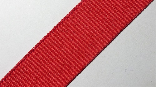 23мм Лента окантовочная репсовая р.3052 красная