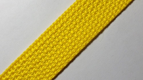 20мм Лента ременная р.3086 желтая, п/п