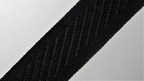 24мм Лента окантовочная р.3132 черная