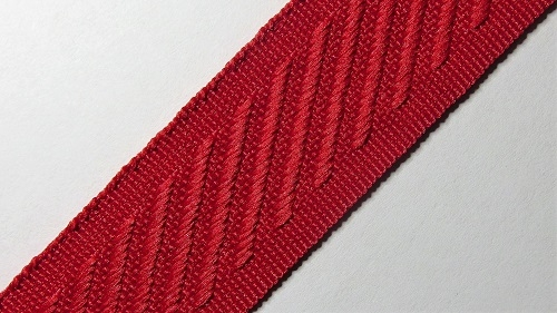24мм Лента окантовочная р.3134 красная