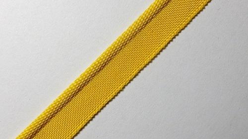 """10мм Лента """"кант"""" (бортик) р.3172 желтый"""