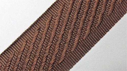 30мм Лента окантовочная р.3196 коричневая