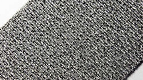 60мм Лента эластичная (резинка) р.3256 св.серая