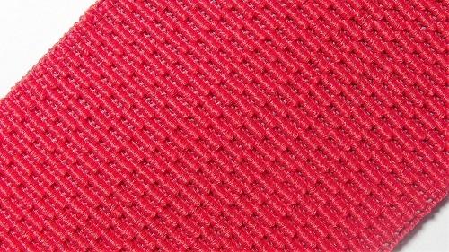 60мм Лента эластичная (резинка) р.3256 красная