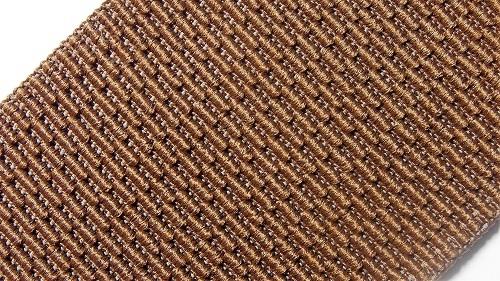 60мм Лента эластичная (резинка) р.3256 коричневая