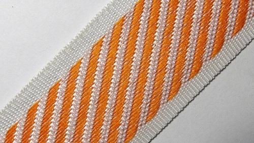 35мм Лента для отделки матрасов р.3310 оранжевый