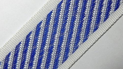35мм Лента для отделки матрасов р.3310 синяя