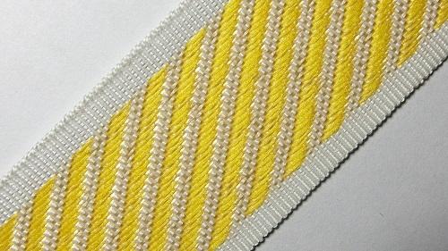 35мм Лента для отделки матрасов р.3310 желтая
