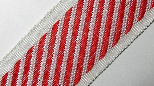 35мм Лента для отделки матрасов р.3310 красная