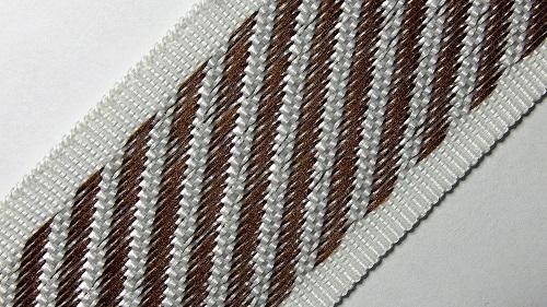35мм Лента для отделки матрасов р.3310 коричневая