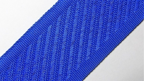 35мм Лента для отделки матрасов р.3312 синяя