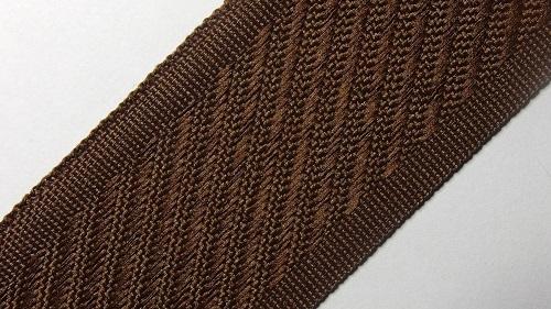 35мм Лента для отделки матрасов р.3312 коричневая