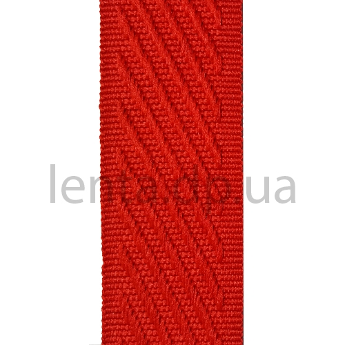 28мм Лента окантовочная р.3170 красная