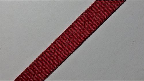 10мм Лента окантовочная репсовая р.2599, красная